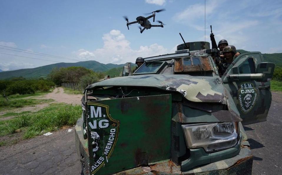 Lanza el CJNG amenaza a fuerzas federales