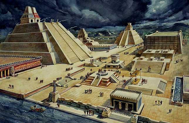 500 años de la caída de México-Tenochtitlan