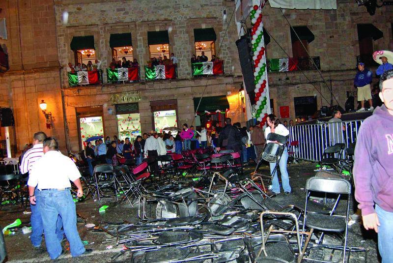 15 de septiembre de 2008: a 15 años del primer acto terrorista en México