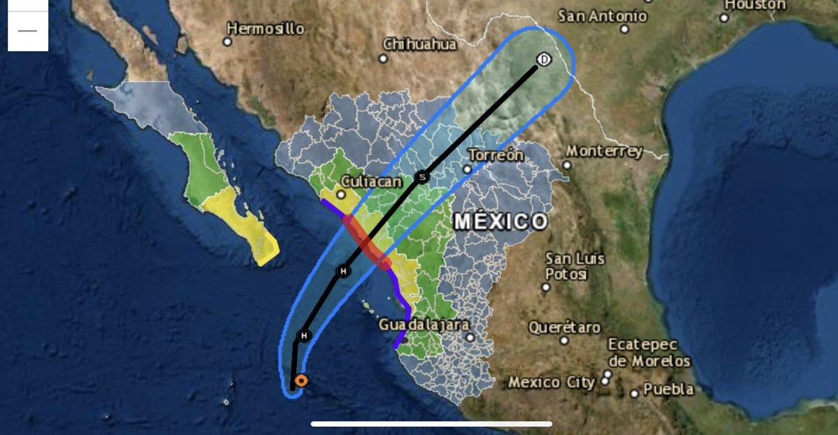 Se convierte Pamela en huracán de categoría 1